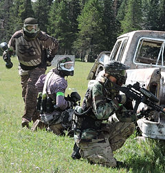 Calgary & area paintball fields capture the flag paintball splatmaster low impact paintball entertainment venues