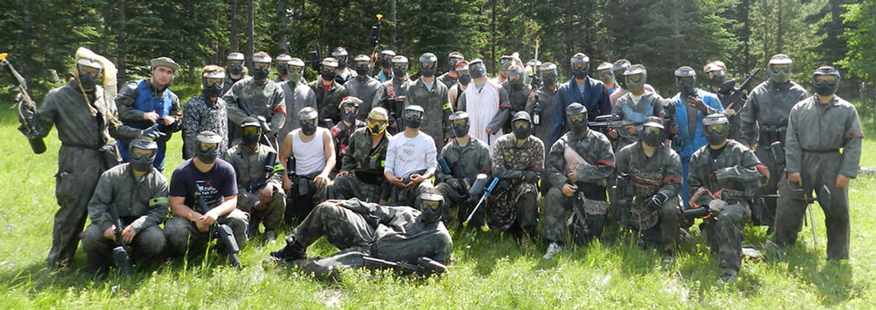 calgary paintball team building, team windup parties, calgary paintball, things to do Calgary, entertainment venue, outdoor sports, recreational activities calgary
