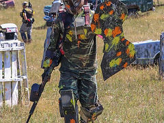 Calgary & area paintball fields capture the flag paintball splatmaster low impact paintball entertainment venues, charity fundraiser events calgary