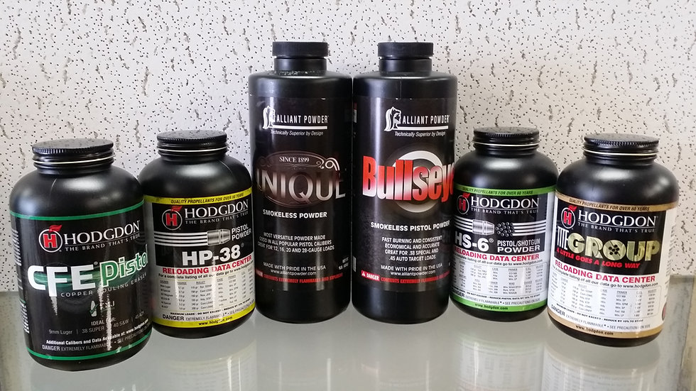 Hodgdon/Alliant Pistol Powder