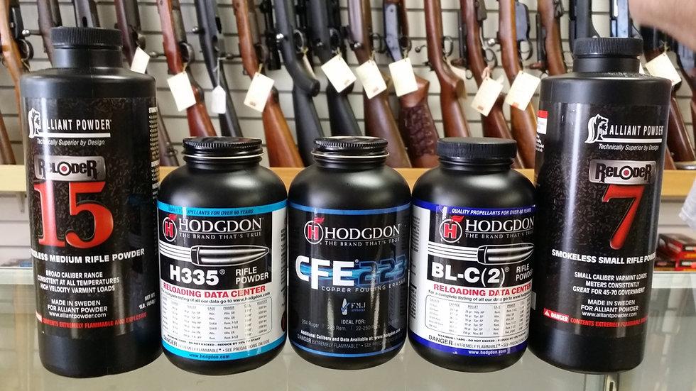 Alliant/Hodgdon Rifle Powder