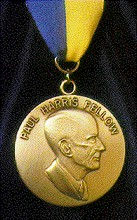 Robin Spencer's Paul Harris Medal