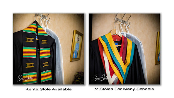 Grad Photo Vee Stoles Kente Stole Sashes Ottawa