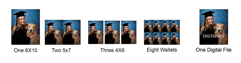 Grad Photo Print & Digital Options