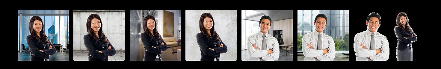 Business Headshot digital backgrounds