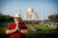 Ottawa master photographer Robin Spencer at the Taj Mahal India