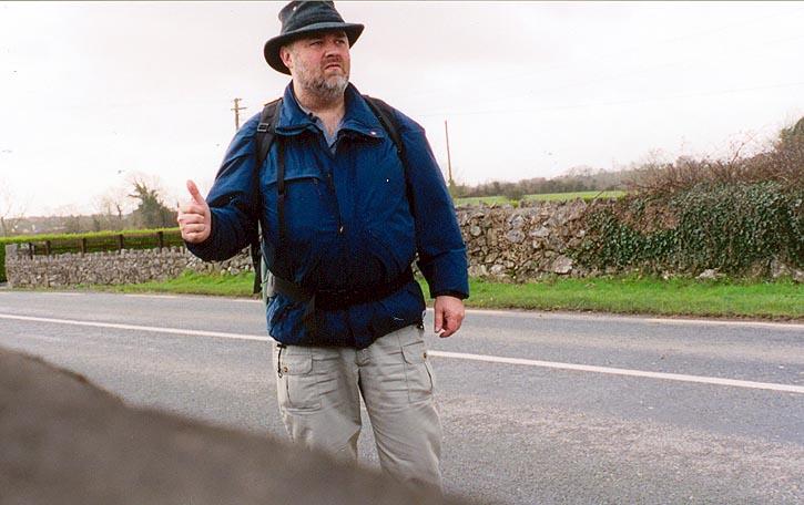 Robin Spencer - Ottawa Photographer hitchhiking Ireland