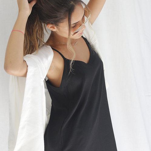 Vestido Alcinha Básico Preto