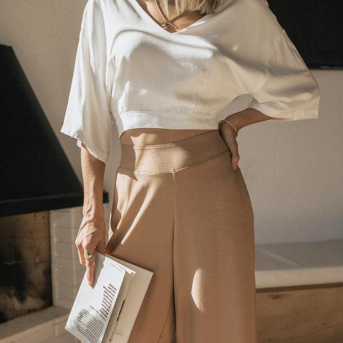 Cropped Kimono Branco