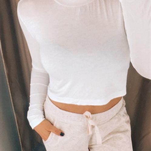 Cropped Golinha Off White