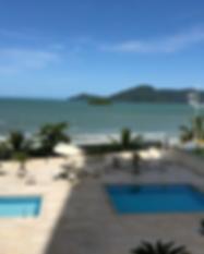 Apartamento Frente ao mar Balneário Camboriú