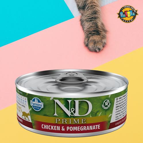N&D POLLO & GRANADA (80 gr)