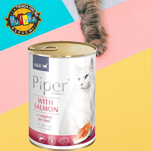 PIPER CAT SALMÓN ( 400 GR)