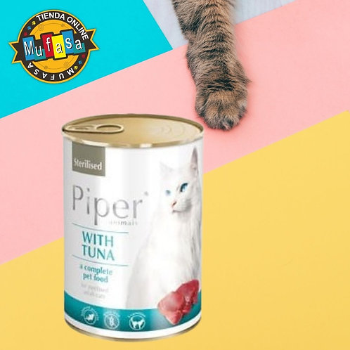 PIPER CAT FILETE DE ATÚN (400 GR)