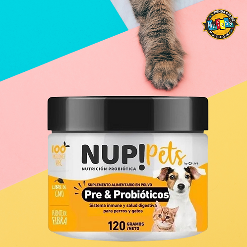 NUP! pets Pre&Probióticos