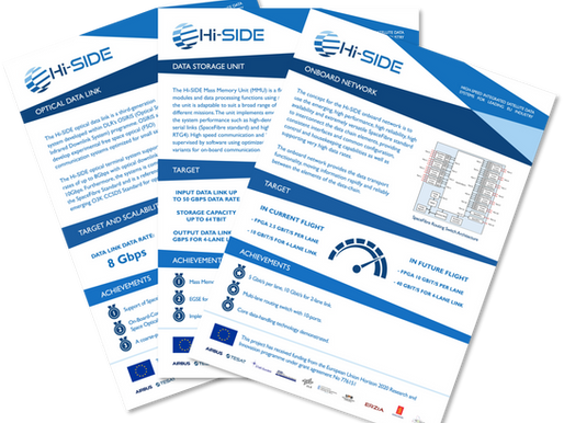 Hi-SIDE Data Chain Element Information Sheets Published