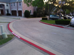 Residential Community Fire Lane