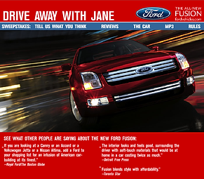 Ford Motor Company Site Preview