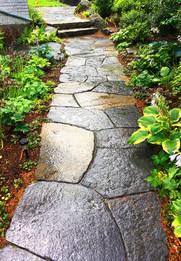 Goshen stone walkway