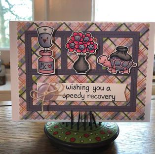Speedy Recovery Purple