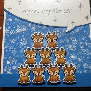 Stacked Reindeer