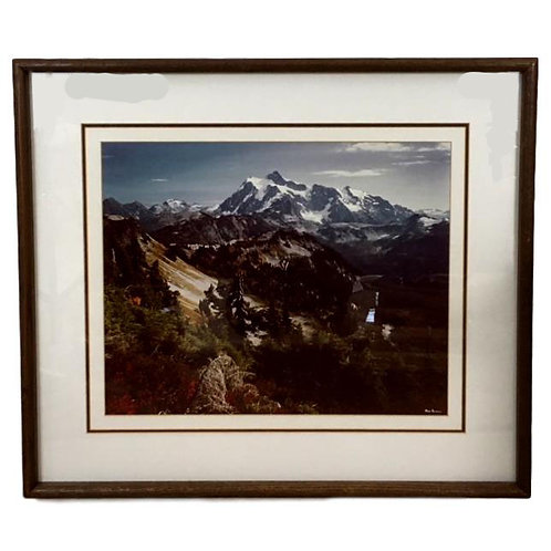Cable Mountain Color Photograph  Signed by Lee Mann