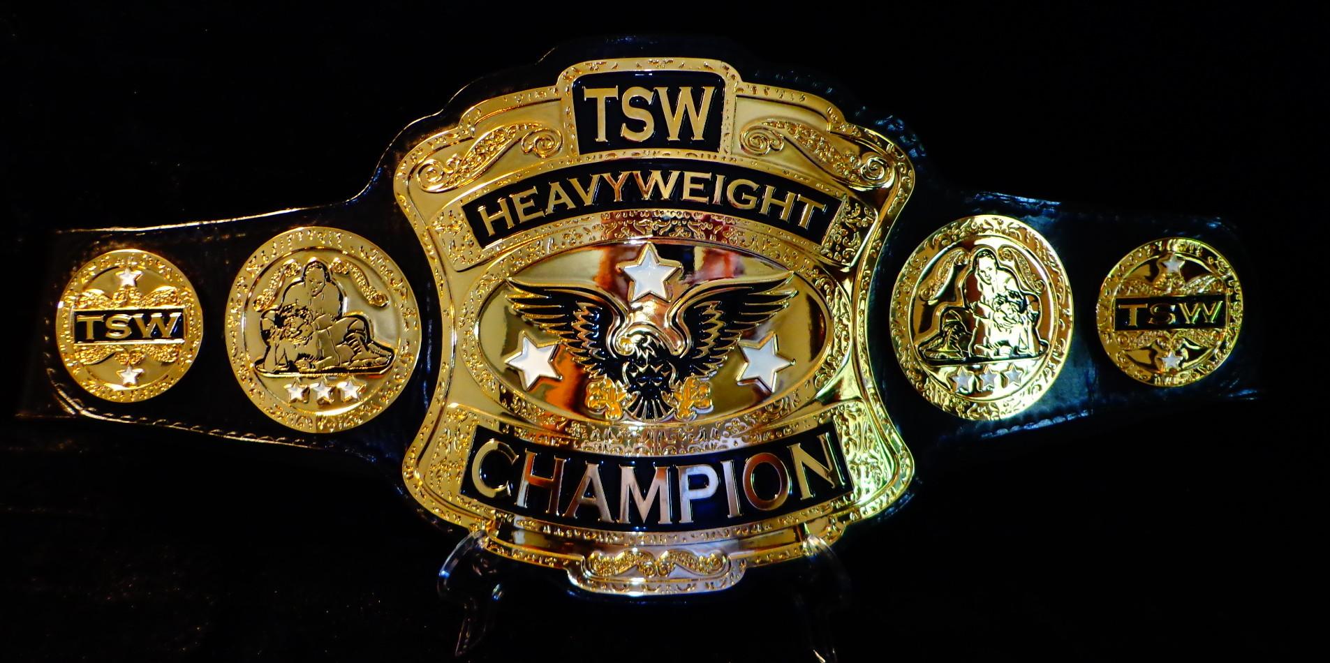 TSW CHAMPIONSHIP BELT