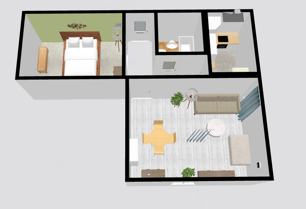 1 bedroom apartment in Vilnius