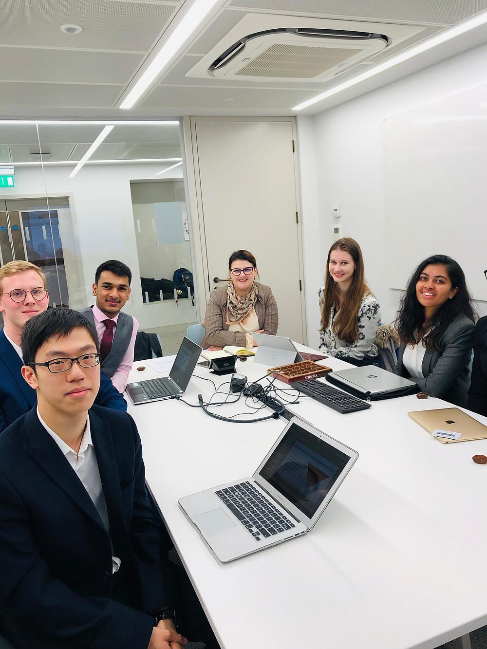 London Strategic Consulting team