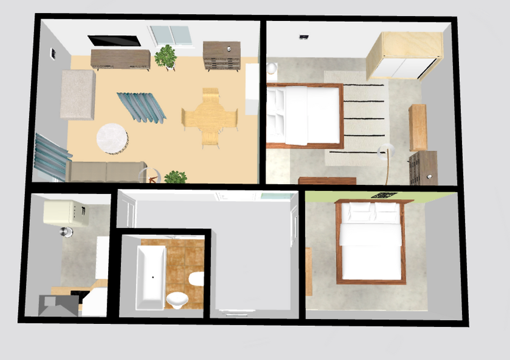 2-bedroom apartment in Vilnius