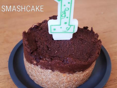 Smashcake d'anniversaire