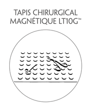 tapis chirurgical magnétique climdal
