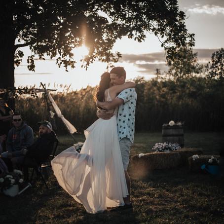 Front Yard Wedding
