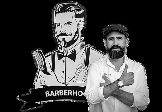 Barberhood Vallentuna. En klassisk barbershop med profesionell barberare Michel Mallo, expert på herrklippning och skäggvård
