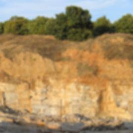 Gneiss quarry