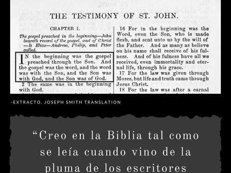 ¿Fue José Smith inspirado por Dios para aclarar versos de la Biblia?
