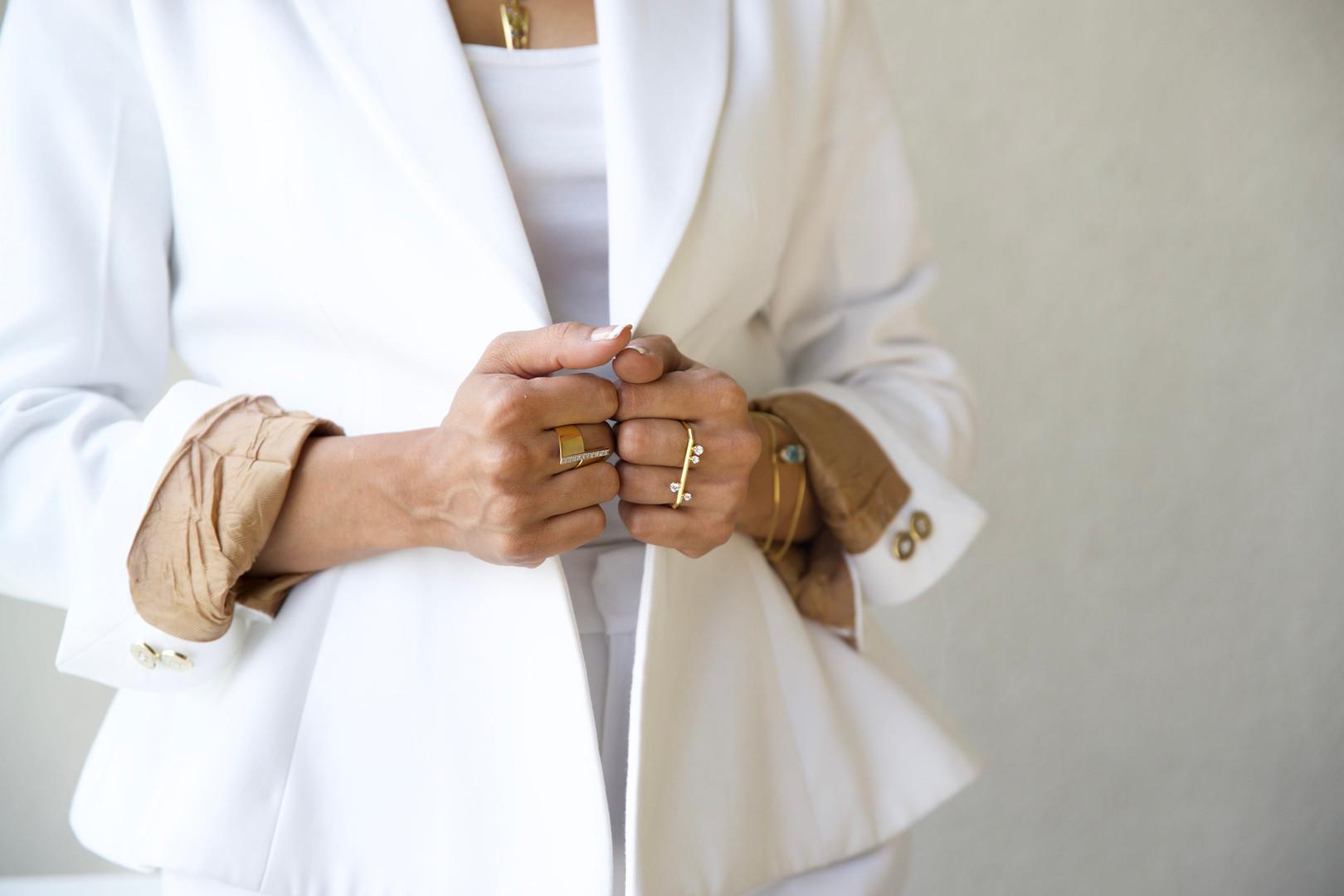 Dual Diamond Ring