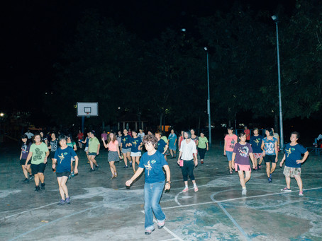 Night dance in Kepong