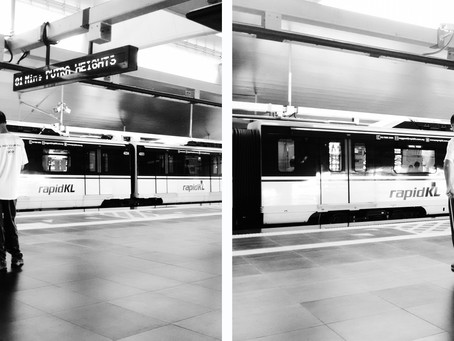 'Life As A Commuter' series 5/14 Munirah Rohaizan