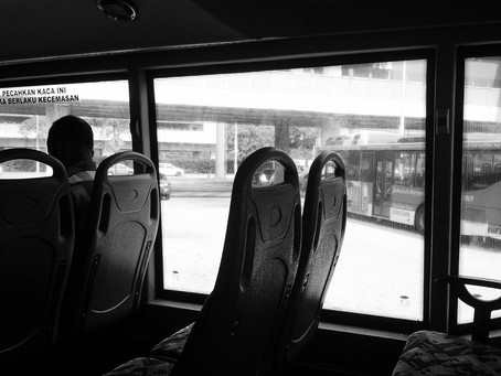'Life As A Commuter' series 4/14 Munirah Rohaizan