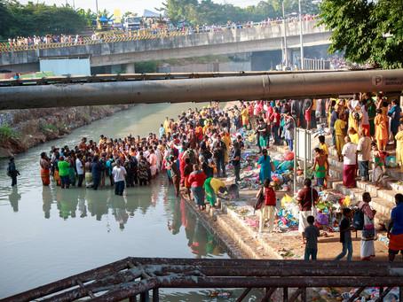 The River Runs Through It by Harriet van Eldik-ten Hoopen