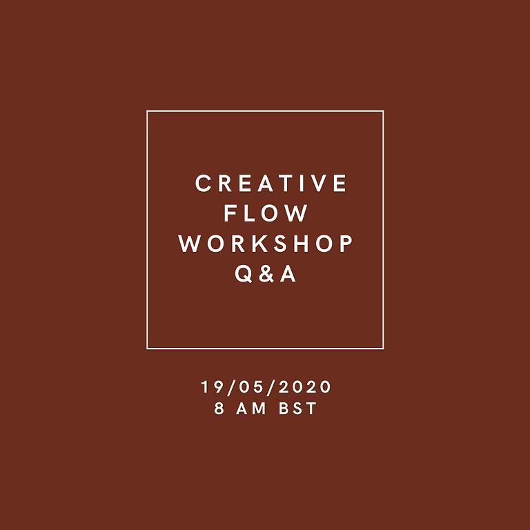 Creative Flow Live Q&A