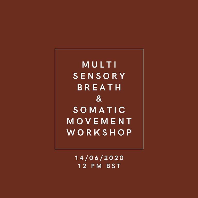 Somatic Movement  X Multi-Sensory Breath Workshop