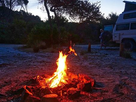 露營營火論 - 切勿斬樹燒地