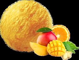 Sorbet-mangue-orange.Pan-de-azucar-glacier