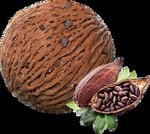 Glace-chocolat.Pan-de-azucar-glacier