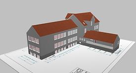 Wärmeschutz 3D-Modell Vu Partner Ingenieure
