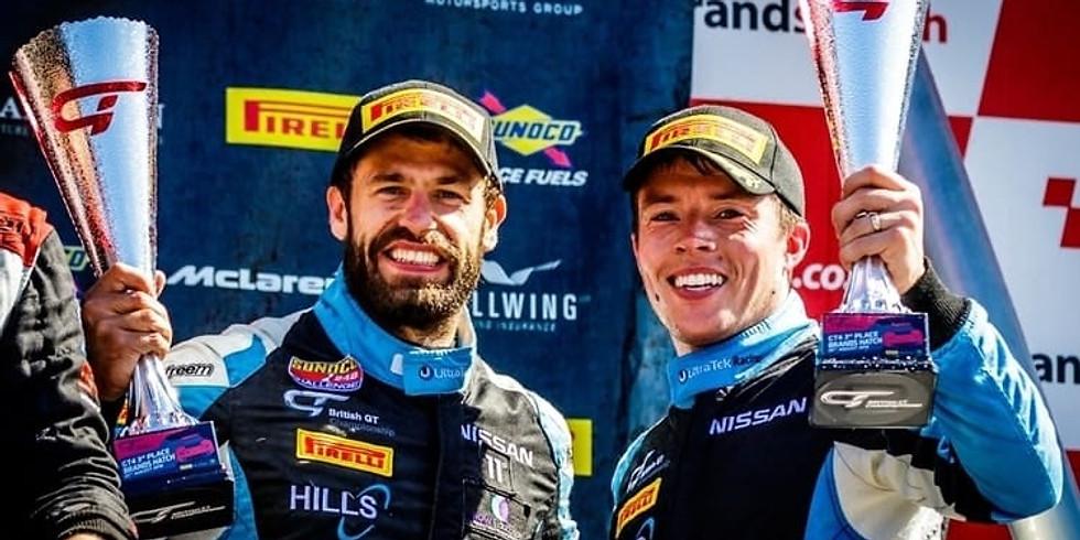 Farley and Jones to become official 'recruitment' partner of star British GT duo, Martin Plowman & Kelvin Fletcher