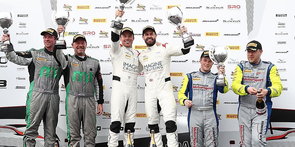 Plowman and Fletcher win 2019 British GT ProAm Championship!