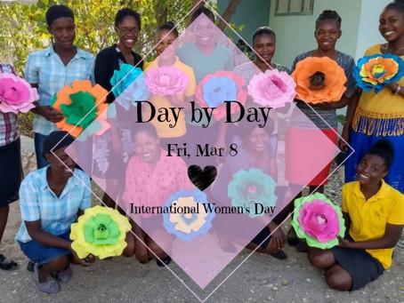 Day by Day: Fri, Mar 8